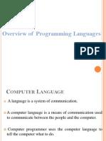 Programming Languages Compiler
