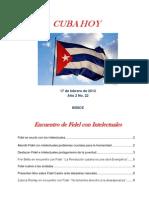 CUBA HOY No.22 Especial Fidel_Intelectuales