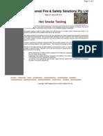 Hot Smoke Testing