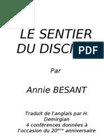 LE SENTIER DU DISCIPLE-BESANT.doc