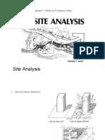 Site Analysis Edward T White 1 Zoning Design