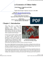 The in-Game Economics of Ultima Online