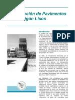 Construcción de Pavimentos de Hormigón Lisos - TB006