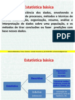 Aula Estatística - Básica