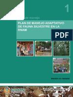 1_Plan de Manejo Adaptativo de Fauna Silvestre - 28-11-07