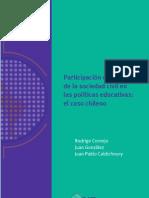 Participacion Incidencia Sociedad Civil Politicas Educativas Chile (175pp)