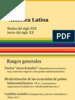 América Latina (fines s. XIX - inicios s. XX)
