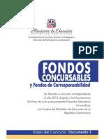 Bases Concurso Fondos Concursables y de Corresponsabilidad