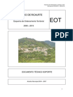 Ricaurte Eot Documento 2006 2015