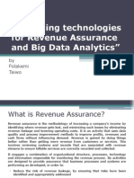 Emerging Techs in RA & Big Data Analytics