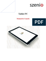 Tablet PC Real Madrid - Manual