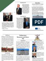 Oireachtas Newsletter