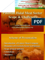 Pakistan's Halal Meat Sector