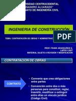 Clase Administracion de Contratos