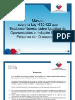 Manual Ley 20422