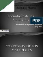 Materiales resistente a la corrosion