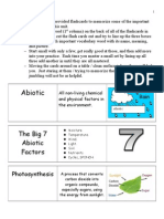 ecology abiotic factors unit flashcards