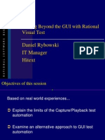 Beyond the GUI