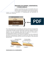Drenaje-suelos de La Subrasante en Caminos, Aeropuertos y Ferrocarriles