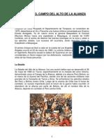 Batalla Del Campo Del Alto de La Alianza