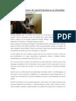 19/07/13 newsoaxaca Inaugura secretario de salud bebederos en Matatlán