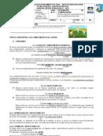 GUIA 11 ESPAÑOL 7° complementos del verbo