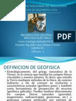 Seminario b Prospeccion Geofisica Metodo Electrico
