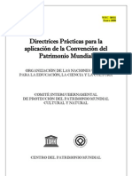 Directrices prácticas sobre la aplicación de la Convención del PM - 2008