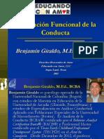 Analisis Conductual Aplicado - Evaluacion Funcional de La Conducta