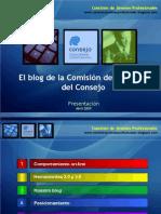Presentacion Del Blog de la Comisión de Jóvenes
