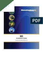 M3 Installation Guide 8750085003 RevB1