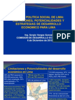 Exp Desarrollo Economico Lima
