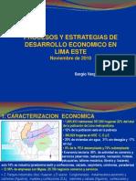 Procesos de Desarrollo Economico en Lima Este