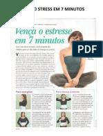 VENÇA O STRESS EM 7 MINUTOS