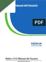 Nokia 1315 UserGuide SP