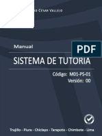 MANUAL DEL SISTEMA DE TUTORÍA