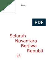 Seluruh Nusantara Berjiwa Republik - Ir. Soekarno, 17 Agustus 1948
