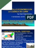 Desarrrollo Economico Cuenca de Lurin