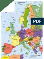 Mapa Europa