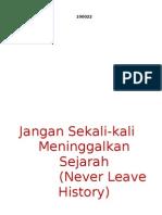 Jangan Sekali-Kali Meninggalkan Sejarah (Jali Merah) - Ir. Soekarno, 17 Agustus 1966