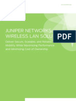 Juniper Network Wireless Lan Solution