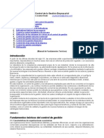 Control Gestion Empresarial