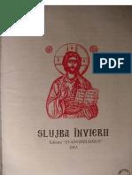 Slujba Invierii, Ed. Evanghelismos, 2002