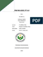 Tugas 01 Probabilitas