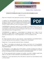 INSTRUÇÃO NORMATIVA DNRC Nº 116, DE 22 DE NOVEMBRO DE 2011