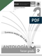 Antologias+de+Lecturas +Leemos+Mejor+Cada+Dia+3er+Grado