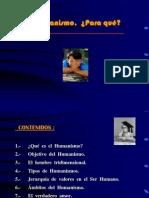 1.2 Características del pensamiento humanista