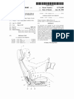 DYNAMIC ACTUATION SYSTEM FOR AN ARTICULATED HEADREST PORTION OF