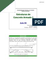 Aula 05 Estruturas de Concreto Armado i 2013 1