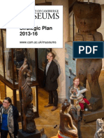 University of Cambridge Museums, Strategic Plan 2013 - 2016
